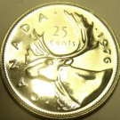SUPER PROOF CANADA 1976 25 CENTS~WE HAVE CANADIAN PROOFS~FREE SHIP~