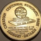MASSIVE UNC SUDBURY CANADA THE NICKEL CAPITAL OF THE WORLD NUMISMATIC PARK~FR/SH