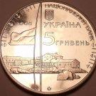 HUGE UKRAINE 2006 5 HRYVNIA~ANTARTIC RESEARCH STATION~