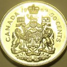 PROOF CANADA 1969 50 CENTS~WE HAVE PROOFS~FREE SHIPPING~