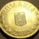 Gem Unc Romania 2005 5 Bani~Minted In Bucharest~Free Shipping