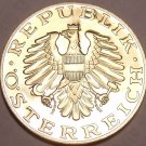 LARGE PROOF AUSTRIA 1986 10 SCHILLING~FANTASTIC~FREE SHIPPING~