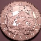 Rare Proof Great Britain 2005 5 Pounds~The Battle Of Trafalgar~Free Shipping