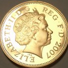 CAMEO PROOF GREAT BRITAIN 2007 2-PENCE~SUPER COIN~FREE SHIP~WE HAVE PROOF COINS~