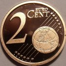 Cameo Proof Germany 2005-G Two Euro Cents~Karlsruhe Mint~Excellent~Free Ship~
