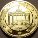 Cameo Proof Germany 2004-G Ten Euro Cents~Karlsruhe Mint~Cameo~Free Shipping~