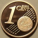 Cameo Proof Germany 2004-G One Euro Cent~Karlsruhe Mint~Excellent~Free Shipping~