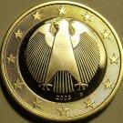 Cameo Proof Germany 2003-D Euro~Munich Mint~Deutschland~Bi-Metal~Free Shipping~