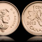 Gem Unc Canada 2012 Cent~The Last Cent Canada Ever Made