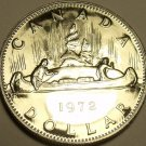 PROOF CANADA 1972 CANOE DOLLAR~FANTASTIC COIN~FREE SHIPPING INCLUDED~