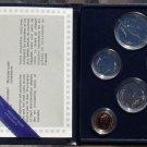 CANADA 6 COIN 1984 GEM UNC SPECIMEN COIN SET~FREE SHIPPING~