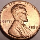 United States 1958-P Unc Lincoln Wheat Cent~See All Our U.S. Coins~Free Shipping
