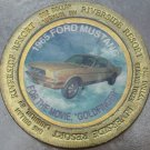 LARGE RIVERSIDE RESORT $1 GAMING TOKEN~1965 FORD MUSTANG~GOLDFINGER~FREE SHIP~