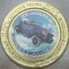 LARGE RIVERSIDE RESORT $1 GAMING TOKEN~1931 FORD ROADSTER MODEL A~FREE SHIPPING~