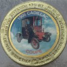 LARGE RIVERSIDE RESORT $1 GAMING TOKEN~1906 CADILLAC COUPE~FREE SHIPPING~