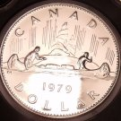 Proof Canada 1979 Voyageur Dollar~Minted By The Royal Canadian Mint~Free Ship