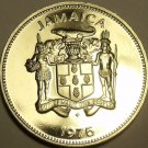 PROOF JAMAICA 1975 10 CENTS~LIGNUM VITALE~16K MINTED~FREE SHIPPING