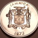 PROOF JAMAICA 1972 10 CENTS~LIGNUM VITALE~17K MINTED~FREE SHIPPING