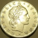 RARE ITALY 1954-R 50 LIRE~1ST YEAR EVER MINTED~KEY DATE~FREE SHIPPING~