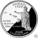 2008-D HAWAII GEM UNCIRCULATED STATE QUARTER~FREE SHIP~