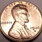 United States 1946-D Unc Lincoln Wheat Cent~Free Shipping