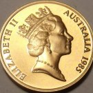 Proof Australia 1985 Cent~Only 75,000 Minted~Feather-Tailed Glider~Free Shipping
