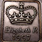 Great Britain 1997 Proof Set Medallion~Collect Every Year Medallion~Free Ship