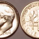 1972-D BRILLIANT UNCIRCULATED ROOSEVELT DIME~FREE SHIP~