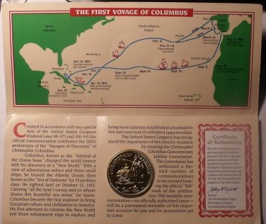 Christopher Columbus S Map on