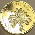 PROOF GAMBIA 1971 25 BUTUTS~1ST YEAR MINTED~OIL PALM TREE~32K MINTED~FREE SHIP