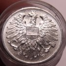 Gem Unc Roll (50 Coins) Austria 1962 2 Groschen~Imperial Eagle~Free Shipping
