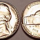 1966-P GEM UNC JEFFERSON NICKEL~VERY NICE~FREE SHIPPING