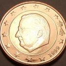 GEM UNC BELGUIM 1999 5 EURO CENTS~ALBERT II~FREE SHIP~