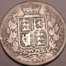 Huge Rare Silver Great Britain 1884 Half Crown~We Have G.B. Coins~Free Shipping~