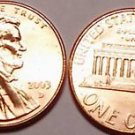 2003-D BRILLIANT UNCIRCULATED LINCOLN CENT~~FREE SHIP~~