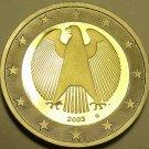 Cameo Proof Germany 2003-G 2  Euros~Karlsruhe Mint~Eagle~Bi-Metal~Free Shipping~