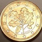GEM UNC GERMANY 2002-D 1 EURO CENTS~MUNICH MINT MARK~FREE SHIPPING~