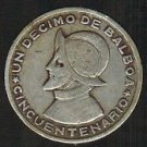 Huge Rare Proof Panama 1974 Half Balboa~18,000 Minted~We Have Panama Coins~Fr/Sh