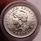 Rare Unc Roll (50) Coins Argentina 1959 5 Centavos~Capped Liberty Head~Free Ship