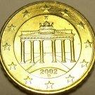 Gem Unc Germany 2002-D 10 Euro Cents~Brandenburg~Excellent~Free Ship