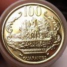 Gem Unc Roll (40 Coins) Paraguay 2005 100 Guaranies~Ruins of Humaita~Free Ship