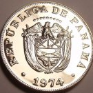 Proof Panama 1974 5 Centesimos~Only 18,000 Minted~We Have Tons Of Proof Coins~FS