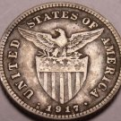 Silver Philippines 1917-S 20 Centavos~Minted In San Francisco~Free Shipping