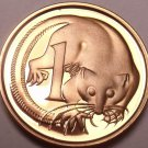 Cameo Proof Australia 1979 Cent~Only 36,000 Minted~Feather Tailed Glider~Fr/Ship