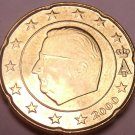 Unc Belgium 2000 20 Euro cents~Minted In Brussels~New Millenium~Free Shipping*