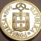 Rare Proof Portugal 1999 1 Escudo~Only 7,000 Minted~Faantastic~Free Shipping