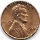 United States Unc 1965-P Lincoln Memorial Cent~Free Shipping