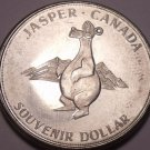 Huge Unc 1970 Jasper Canada~Along The Yellow Head Route~Dollar~Free Shipping