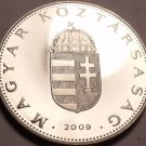 Rare Proof Hungary 2009-BP 10 Forint~Only 5,000 Minted~Minted In Budapest~Fr/Shi