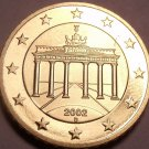 Cameo Proof Germany 2002-D 50 Euro Cents~Munich Mint~Cameo~Free Shipping~